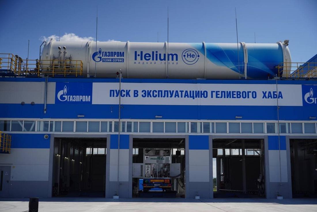 Гелиевый хаб расположен натерритории ТОР «Надеждинская» вПриморском крае— поблизости отморских портов.